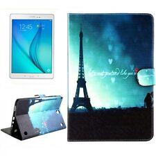 Funda Protectora Motivo 62 para Samsung Galaxy Tab A 9.7 T550 T555N Carcasa