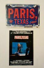 2 carte postale cinéma film Paris Texas Nastassja Kinski Stanton Wim Wenders