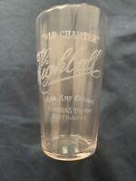 Antique Pre Pro Old Charter Whiskey Bourbon Highball Shot Glass