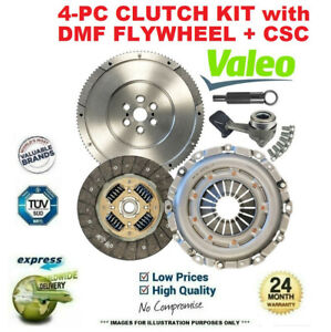 VALEO 4PC DMF CLUTCH KIT for AUDI TT Roadster 1.8 T 2001-2006
