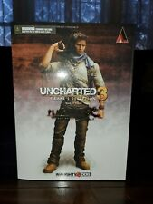 Nathan Drake Uncharted 3 Action Figure Play Arts Kai authentic SN DGTC1203