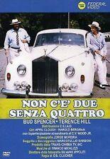 Dvd NON C'E' DUE SENZA QUATTRO - Bud Spencer Terence Hill .....NUOVO
