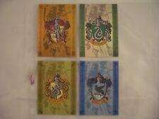 Harry Potter & The Prisoner of Azkaban House Badges BT1-BT4 Trading Card Set