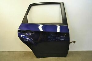 Subaru Impreza WRX STI Rear Right Door Shell Plasma Blue Pearl Oem 2008-2014