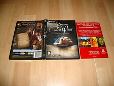 THE SECRETS OF DA VINCI EL MANUSCRITO PROHIBIDO PARA PC 2 DISCOS USADO COMPLETO