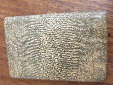 antique enamel on  brass CIGARETTE CASE