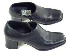 Rush Hour Black Leather Shoe Boots Size 5.5 B US Excellent Brazil