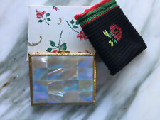 New listing American Beauty Pearl Compact Mint New In Box 1950's