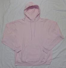 NEW Jerzees Ladies Hooded Pullover Sweatshirt Pink Hoodie sz L