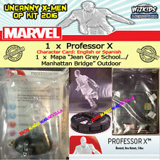 "MARVEL HEROCLIX UNCANNY X-MEN OP KIT ENG/SPA PROFESSOR X + Map ""Jean Grey School"