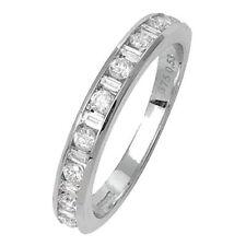 Baguette White Gold I2 Fine Diamond Rings