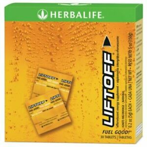 Herbalife Liftoff Ignite-Me Orange Energy Drink Tablet - 30 Count Exp:2/23