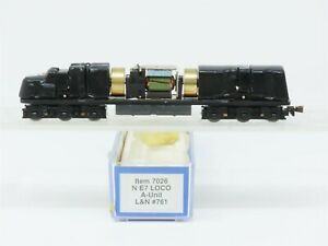 N Scale Life-Like 7026 E7A Diesel Locomotive Chassis