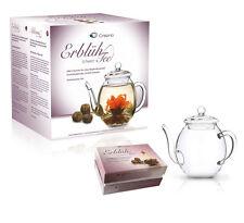Creano Erblüh Tee Geschenkset Schwarztee Teekugeln Teebox - 9761