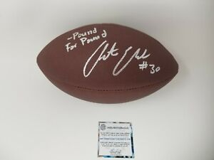 Craig Morton SB VI Champs Inscription Cowboys Autographed Signed Football