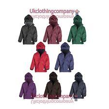 Result Children's Reversible Storm Stuff Jacket - Kids Unisex coats - Sizes 2-12
