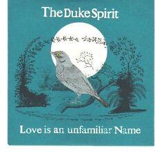 (EA479) The Duke Spirit, Love Is An Unfamiliar Name - 2005 DJ CD