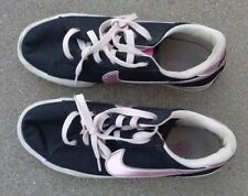 girls Nike black sneakers shoes size 9 1/2