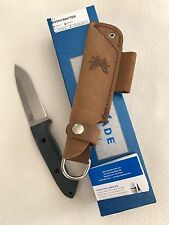 NEW Benchmade 162 Bushcrafter Plain Edge S30V Stainless Steel Blade Sheath Knife