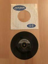 45 Tours : Debbie Burton - Bette Davis - I'll written a letter to daddy RARE