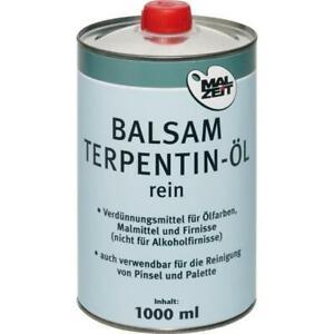 AMI Balsam Terpentin-Öl Verdünner für Ölfarben Reiniger Balsamterpentinöl 1l
