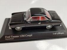 1/43 Minichamps Ford Taunus 12M Coupe 1962 schwarz 400 086121