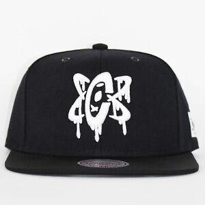 Mitchell & Ness x Capology Atom Black Snapback Limited Edition Baseball Cap