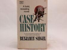GOOD! Case History by Benjamin Siegel 1972 printing