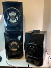 Sony MHC-EC619iP Micro Bookshelf Stereo System AM/FM, CD Player, iPhone 5 Dock