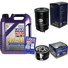 5L Liqui Moly 5W-40 Aceite de Motor + Sct-Filter Fiat Doblo 119 1.9 JTD Multipla