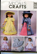 Reduced! McCall's 4485 Oop Vintage 18 Inch Doll Clothes