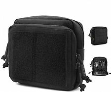 EDC Tactical Admin Pouch Molle Military Map TOOL BAG ORGANIZER Gear