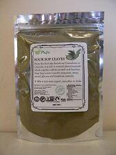 SOURSOP LEAF powder 8oz 1/2lb  Guanabana Graviola Cell health PAJE - Healing pro