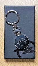 Opel Schlüsselanhänger schwarz beidseitig emailliert  in ORIGINAL Verpackung