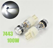 T20 7443 7444 100W 3030 High Power LED White Front Signal B1 #12 For Toyota