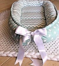 Nest Baby Babynest Sleeper Mint Co Pod Newborn Snuggle Cocoon Crib Bed New Sleep