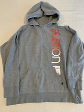 Burton Women's Pullover Graphic Hoodie Grey Sz L