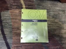 Original John Deere 726,832 Snowblower Operator's Manual OMM80574
