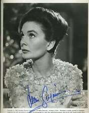 JEAN SIMMONS PSA/DNA SIGNED 8X10 PHOTO AUTHENTICATED AUTOGRAPH