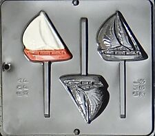 Sailboat Lollipop Chocolate Candy Mold  268 NEW