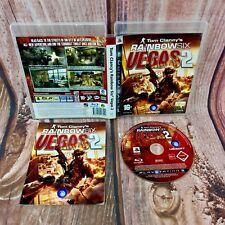 Rainbow Six Vegas 2 PS3 PlayStation 3 Video Juego Completo Perfecto Estado