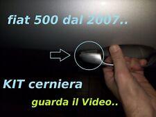 MANIGLIA ESTERNA FIAT 500-07 kit riparazione cerniera