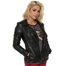 Metal Mulisha Ladies Rollin Stone Jacket Size S