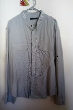 French Connection men's shirt pinstripe XL