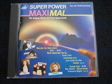 CD  Super Power Maximal  1987  Maxi-Versionen  Silicon Dream Sandra Tina Charles