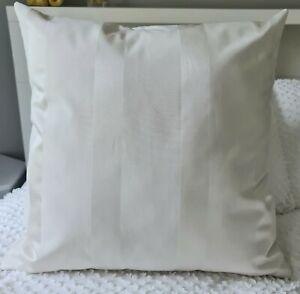 Handmade Regency Stripe Hamptons Light Cream Decor Cushion Cover 55x55 or 60x60