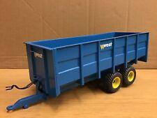 1/32 scale custom built West grain trailer tractor tracteur traktor