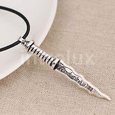 Once Upon A Time Rumpelstiltskin Dagger Pendant Necklace - Brand New