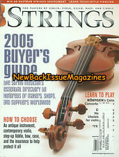 Strings 7/05,2005 Buyer's Guide,July 2005,NEW