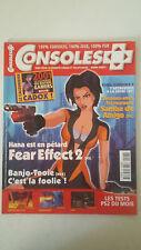 CONSOLES PLUS N°108 - Janv 2001 - FEAR EFFECT 2 RIVAL SCHOOLS 2 BANJO TOOIE